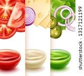 vector realistic illustration... | Shutterstock .eps vector #1317121199