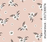 simple cute pattern with small... | Shutterstock .eps vector #1317130076