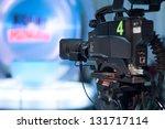 video camera lens   recording... | Shutterstock . vector #131717114