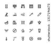 editable 25 drug icons for web...   Shutterstock .eps vector #1317196673