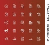 editable 25 bad icons for web...   Shutterstock .eps vector #1317199679