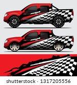 truck decal graphic wrap vector ... | Shutterstock .eps vector #1317205556