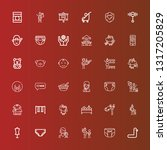 editable 36 child icons for web ...   Shutterstock .eps vector #1317205829