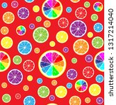 very bright seamless background ... | Shutterstock .eps vector #1317214040
