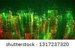 vector abstract 3d crystal. a... | Shutterstock .eps vector #1317237320