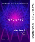 techno event. dynamic gradient... | Shutterstock .eps vector #1317246593