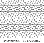 the geometric pattern with... | Shutterstock .eps vector #1317270869