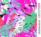 abstract seamless grunge urban... | Shutterstock .eps vector #1317273209