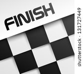 finish square template  winnig... | Shutterstock .eps vector #131727449
