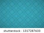 geometrical arabic   ottoman... | Shutterstock .eps vector #1317287633