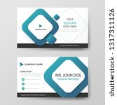 blue square corporate business...   Shutterstock .eps vector #1317311126