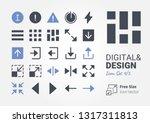 digital   design icon set 4
