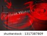 petri dishes. laboratory... | Shutterstock . vector #1317387809