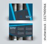 brochure template. business...   Shutterstock .eps vector #1317400466