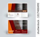brochure template. business... | Shutterstock .eps vector #1317400490