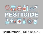 pesticide word concepts banner. ...