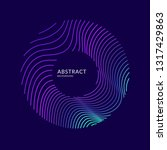 vector abstract background with ... | Shutterstock .eps vector #1317429863