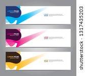 banner background.modern design.... | Shutterstock .eps vector #1317435203