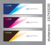 banner background.modern design.... | Shutterstock .eps vector #1317435230