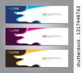 banner background.modern design.... | Shutterstock .eps vector #1317448763