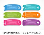 options infographics template... | Shutterstock .eps vector #1317449210