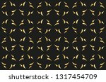 abstract classic golden pattern....   Shutterstock .eps vector #1317454709