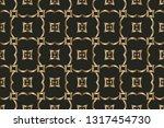 abstract classic golden pattern....   Shutterstock .eps vector #1317454730