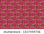 abstract classic golden pattern....   Shutterstock .eps vector #1317454736