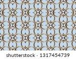 abstract classic golden pattern....   Shutterstock .eps vector #1317454739