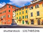 pisa  italy  september 14  2018 ...   Shutterstock . vector #1317485246