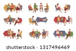 psychotherapist services ... | Shutterstock .eps vector #1317496469
