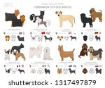 companion and miniature toy... | Shutterstock .eps vector #1317497879