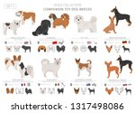companion and miniature toy... | Shutterstock .eps vector #1317498086