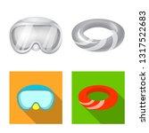 isolated object of equipment... | Shutterstock .eps vector #1317522683
