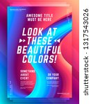modern abstract cover design...   Shutterstock .eps vector #1317543026