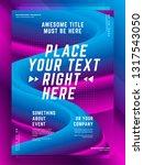 modern abstract cover design... | Shutterstock .eps vector #1317543050