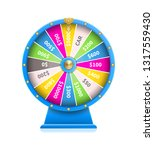 fortune wheel of luck automatic ... | Shutterstock . vector #1317559430