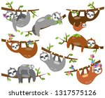 vector collection of cute... | Shutterstock .eps vector #1317575126