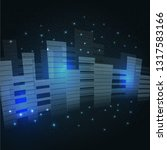 future technologies as part of... | Shutterstock .eps vector #1317583166