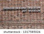 trondheim  norway   may 29 ... | Shutterstock . vector #1317585026