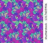 whimsical ethnic seamless...   Shutterstock .eps vector #1317605906