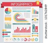 infographics elements... | Shutterstock .eps vector #131762849