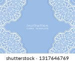 invitation or card template... | Shutterstock .eps vector #1317646769