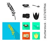 vector illustration of crop and ... | Shutterstock .eps vector #1317650966