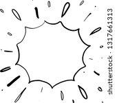firework hand drawn | Shutterstock .eps vector #1317661313
