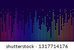 arrows up  neon color gradient  ... | Shutterstock .eps vector #1317714176