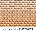 renaissance facade geometric... | Shutterstock .eps vector #1317714179