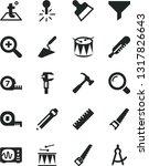 solid black vector icon set  ... | Shutterstock .eps vector #1317826643