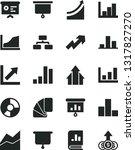 solid black vector icon set  ... | Shutterstock .eps vector #1317827270