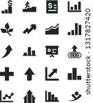 solid black vector icon set  ... | Shutterstock .eps vector #1317827420